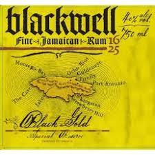 Logo for Blackwell 'Black Gold' Rum