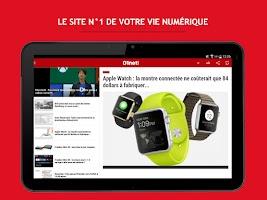 Screenshot of 01net
