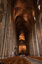 Photo: We visited the Canterbury Cathedral the day after the wedding since the venue was close to Canterbury