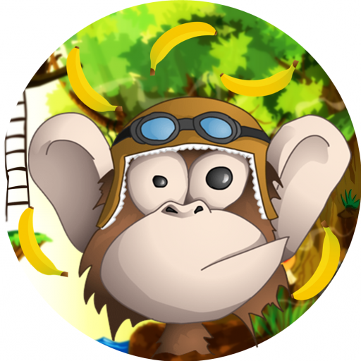 Temple Monkey Run Adventure
