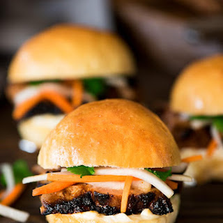 Gochujang Pork Steak Sliders