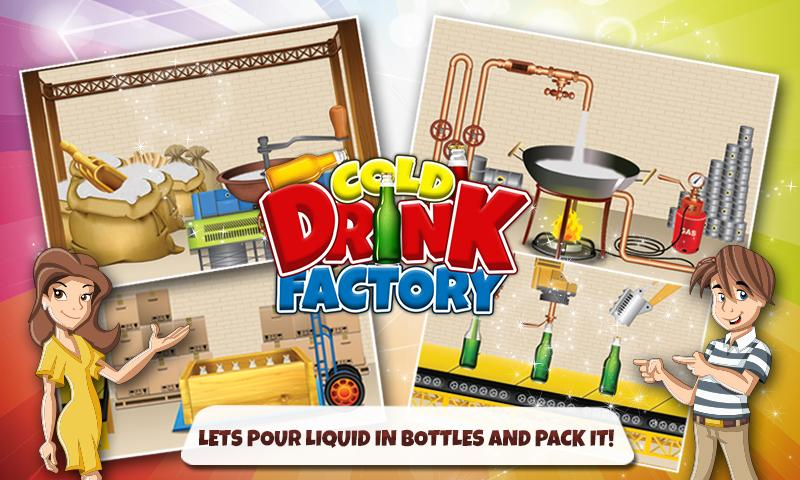android Cold Drinks Factory - Chef Screenshot 1