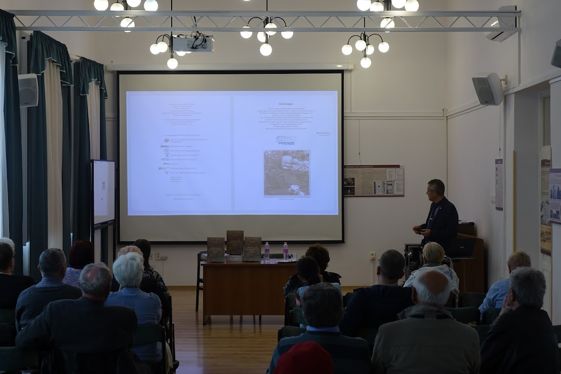 Bagi Gábor előadása