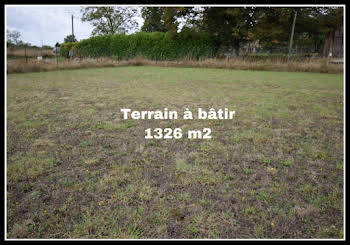 Terrain 1326 m2