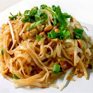Miracle Noodle Chicken Pad Thai.
