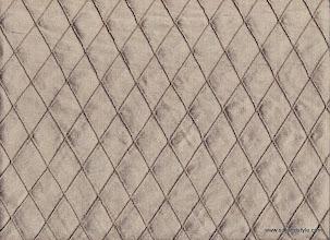 Photo: Pintuck Silk ~ Brown - 1 Inch Diamond