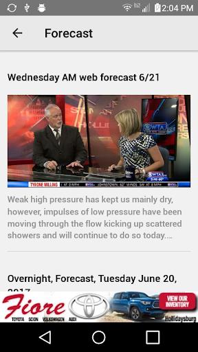WTAJ Your Weather Authority  screenshots 4