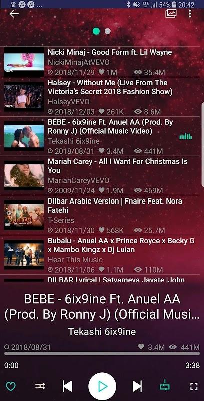 Music Player Pro screenshots