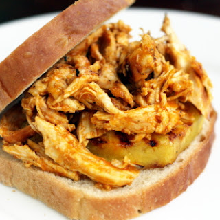 Pulled Hawaiian Chicken Sandwiches