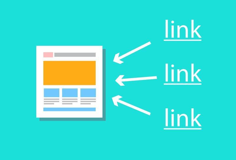 Có rất nhiều backlink được sử dụng