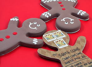 Photo: Gingerbread Man postcards