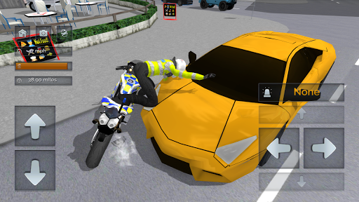 Police Motorbike Simulator 3D  screenshots 3