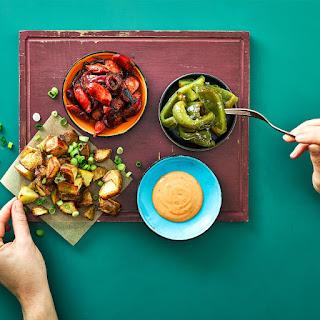 Spanish Style Chorizo Tapas.