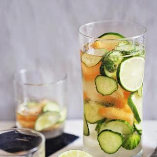 Cucumber-Melon White Sangria