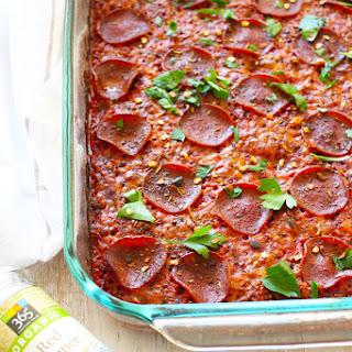 Pizza Quinoa Casserole