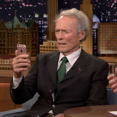 Clint Eastwood - Selfie