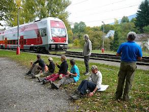 Photo: De trein is er!
