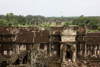 Photo: Year 2 Day 44 -  View of the Angkor Wat Complex