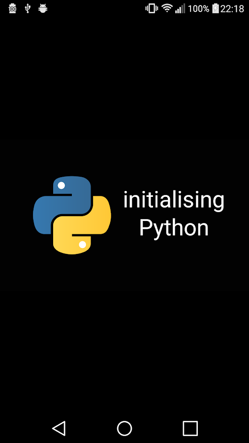 Pyonic Python 3 interpreter- screenshot
