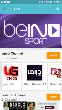 UG TV APK Latest Version Download - Free Entertainment APP
