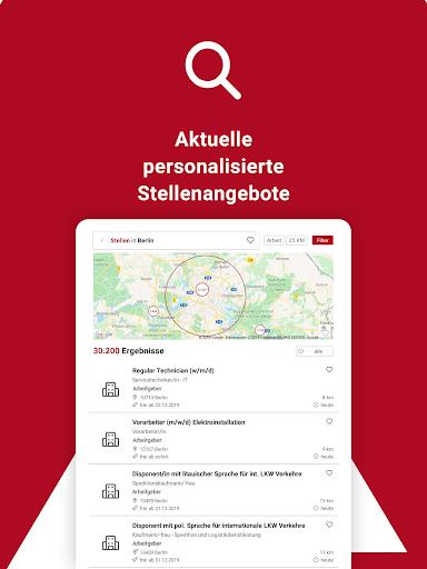 Jobsuche – die neue JOBBÖRSE 2.6.0 screenshots 13