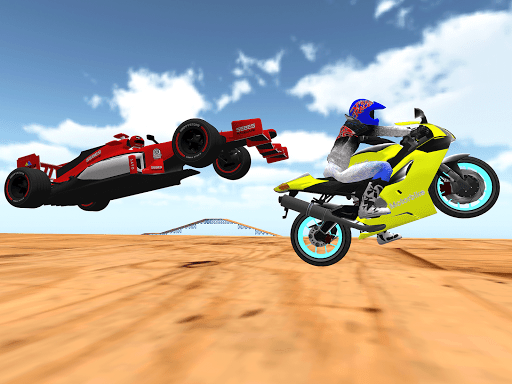 motorcycle infinity driving simulation extreme  screenshots 4