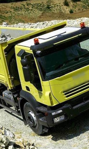배경 화면 IVECO TRAKKER 트럭