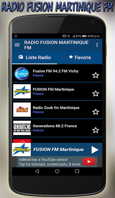 Radio Fusion Martinique Fm Direct Gratuit App Apk Download Apkindo