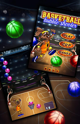 Basketball Bubble Shooter