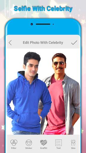Celebrity Photo and Me...!!!! 1.2 screenshots 1