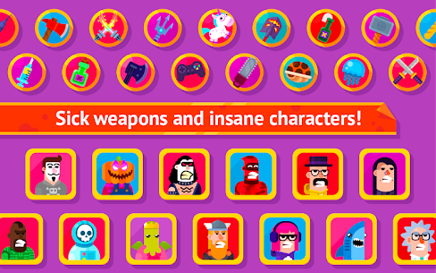 Bowmasters MOD 2.12 (Unlimited Coins) Apk 3
