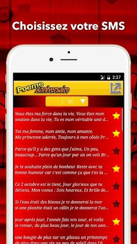 Alla Laadida Sms Poème Anniversaire Apk Uusim Versioon App