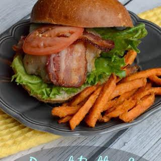 Peanut Butter Bacon Cheeseburger.