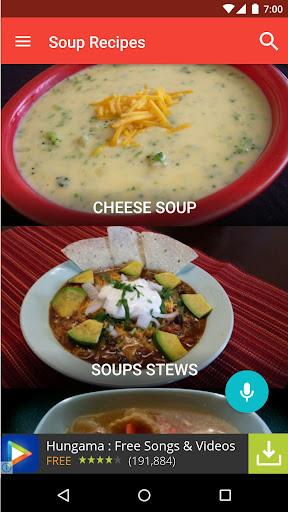汤食谱免费