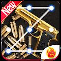 Cool Gun Lock Screen, Gun Weapons Wallpapers HD icon