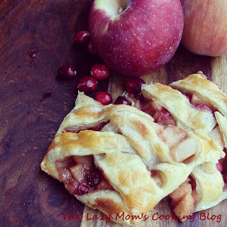 Apple Pear Cranberry Strudel