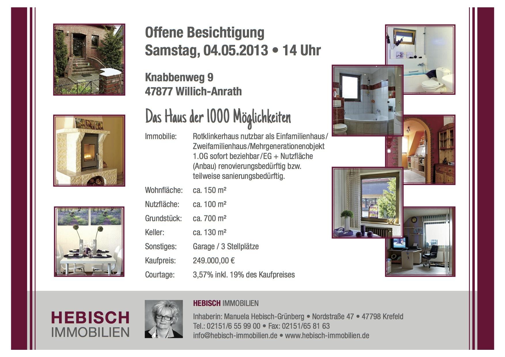 Hebisch Immobilien album