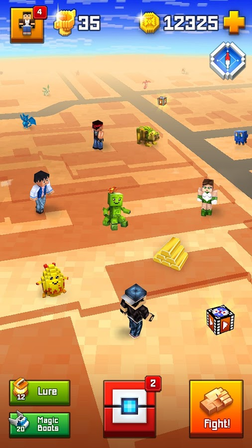 Pixelmon GO - catch them all!- screenshot