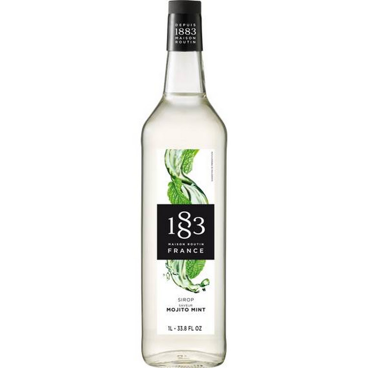 1883 MOJITO MINT SYRUP 1L by Trendy ProAsia