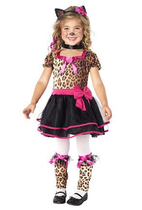 Dräkt, Leopardklänning barn