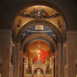 Basilica Naive by James Gorman - Buildings & Architecture Places of Worship ( naive, basilica )