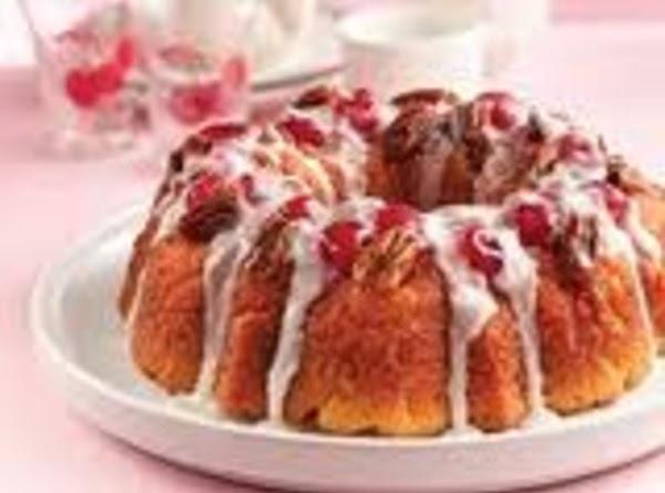 Almond Cherry Coffeecake Recipe