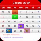 België Kalender 2019 icon