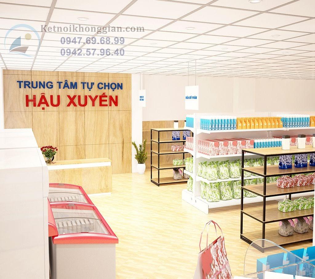 cách để thiết kế siêu thị mini hoàn hảo