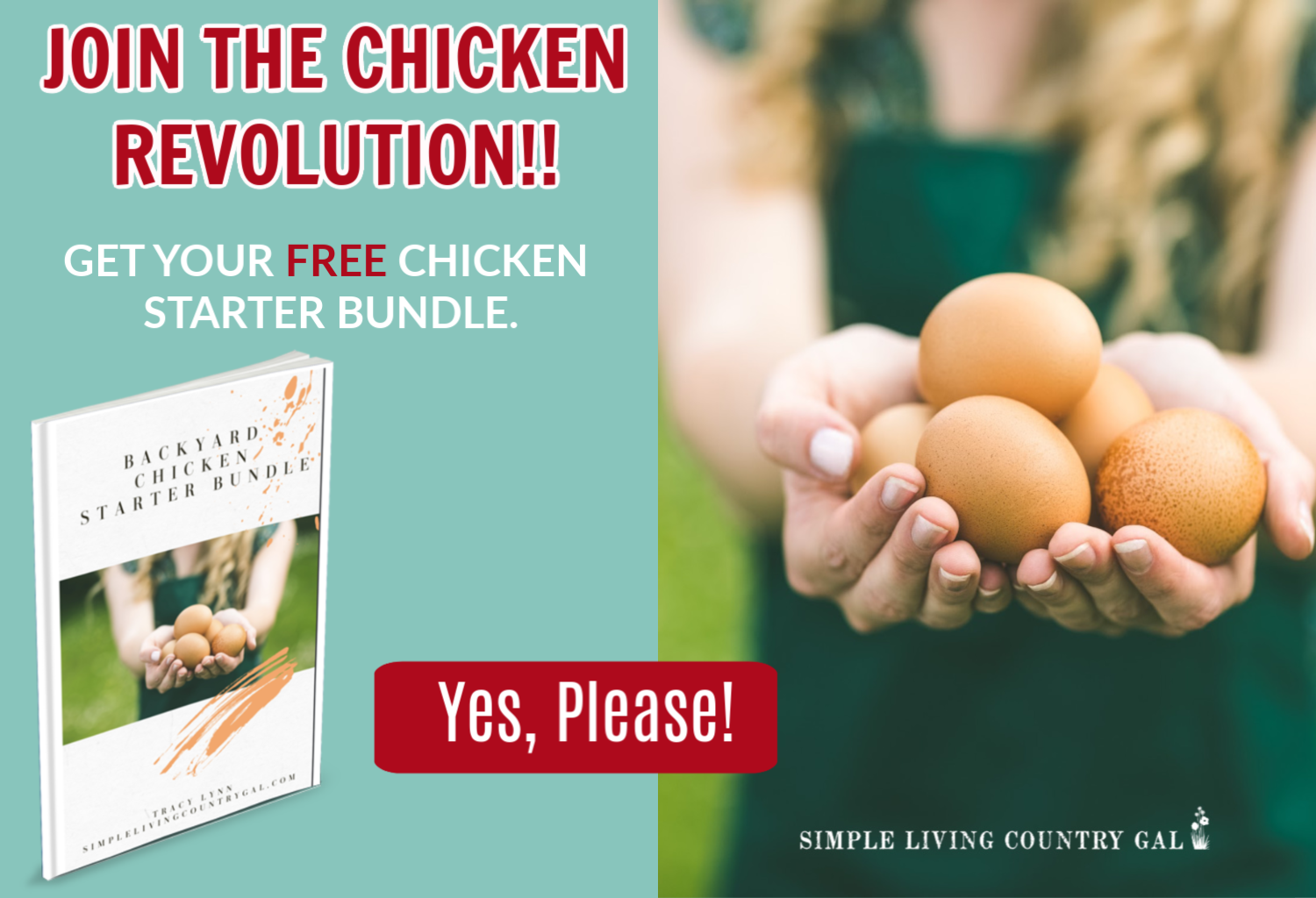 Click here to get your free Chicken Starter Bundle