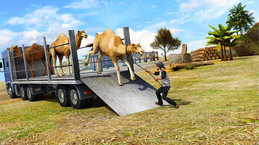Rescue Animal Transporter Truck Driving Simulator apktram screenshots 4