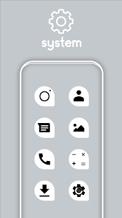 Teardrop Light UI - Icon Pack Screenshot