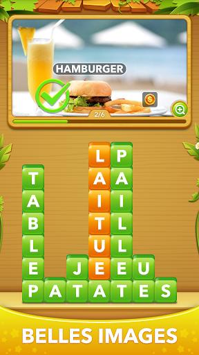 Word Heaps: Pic Puzzle - devinez les mots APK MOD – Pièces Illimitées (Astuce) screenshots hack proof 2