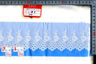 Photo: №731241-302綿レースオフ:巾90mm