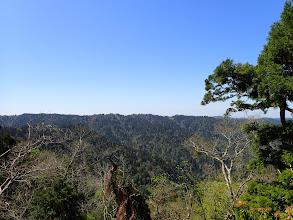 左に小野村割岳